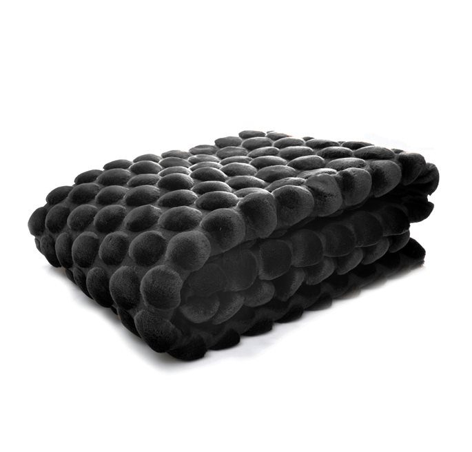 Black Egg Throw  170x130