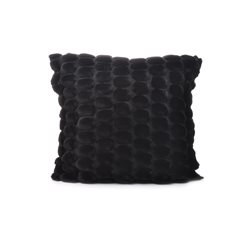 Black Eggshell Cushion Cover