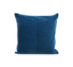 Blue/Navy Blue Velvet Cushion Cover