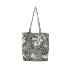 Black flower linen New Shopper