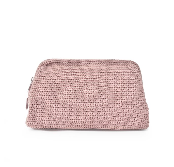 Soft Pink Crochet New Cosmetic